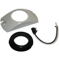 """MOUNTING GROMMET/PIGTAIL/BRANCH DEFLECTOR KIT FOR ROUND 2.5"""" OPEN BACK"""