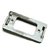 """ADAPTER MOUNT FOR RECTANGULAR 1"""" X 2"""", CHROME, 1 BULB, SEALED UNIT, ABS"""
