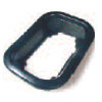 "MOUNTING GROMMET, BLACK, FOR RECTANGULAR 4"" X 6"", OPEN BACK VINYL"