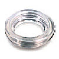 "MOUNTING GROMMET, CLEAR, 2"" ROUND, OPEN BACK, VINYL"