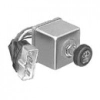 2 MOTORS, 12VDC, LEAD & 8-WAY MALE ASSEMBLY, ROUND KNOB, IMPRINTED WITH SAE WASHER-WIPER SYMBOL