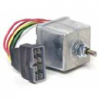 2 MOTORS, 12VDC, LEAD & 8-WAY MALE ASSEMBLY,