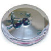 "7 1/2"" OFFSET ROUND, STAINLESS STEEL HOUSING W/STAINLESS STEEL ""L"" BRACKET"