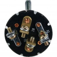 Cole Hersee Rotary Switch 75712-04 Rear