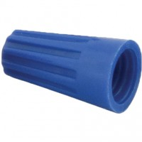 Screw-On Wire Termination Connectors 22-14 AWG Blue