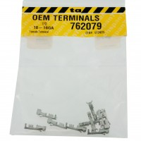 Delphi 12124075 OEM Female P2S Pull To Seat Terminal 18-16 Awg 10 Pack