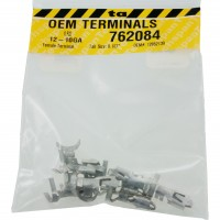 "Delphi 12052139 OEM Terminal 12-10 Awg Size .187"" Female Tab 10 Pack"