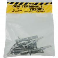 "Delphi 12065197 OEM Terminal 12-10 Awg Size .187"" Male Tab 10 Pack"