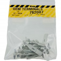 """Delphi 12064737 OEM Terminal 12-10 Awg Size .250"""" Male Tab 10 Pack"""