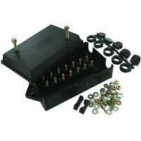 TERMINAL BLOCK JUNCTION BOX 14 10-32 STUDS