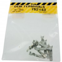 Delphi 6294511 OEM  Male Tab Connector Terminal 20-18 Awg 10 Pack