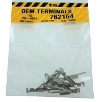 """Delphi 12047581 OEM Male Tab Size .059"""" Terminal 20-18 Awg 10 Pack"""
