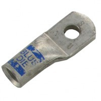 """Extra Heavy Copper Lug for Battery and Welding Cable 1/4"""" 6GA Blue Crimping Die"""