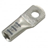 """Extra Heavy Copper Lug for Battery and Welding Cable 3/8"""" 4GA Gray Crimping Die"""