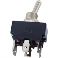6 Blade Terminal Toggle Switch ON-ON DPDT