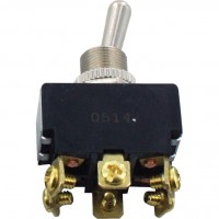 6 Screw Terminal Toggle Switch ON-OFF-ON DPDT