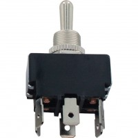 6 Blade Terminal Toggle Switch Momentary ON-OFF-MOM DPDT