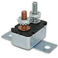 STUD-TYPE CIRCUIT BREAKER 15A WITH NUT, WASHER & MOUNTING BRACKET (FORMERLY 766030)