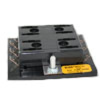 BLADE-TYPE FUSE & CIRCUIT BREAKER PANEL 8 POSITION 30AMP/BRANCH
