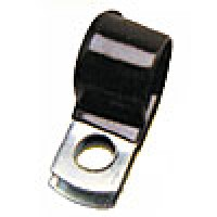 "STEEL CLAMP W/ VINYL CUSHION 1/2""W x 1/4""ID 500PK"