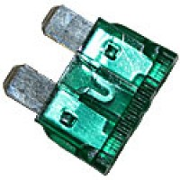 30AMP GREEN 'ATO/ATC STYLE' STANDARD BLADE FUSE 100PK