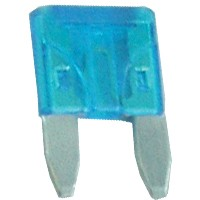 15 Amp Mini Blade Fuses Blue