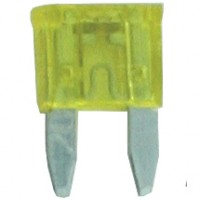 20 Amp Mini Blade Fuses Yellow