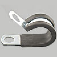 "NEOPRENE & STEEL CLAMPS 3/4""W x 1/4""ID 500PK"