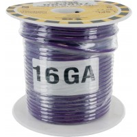 MTW TEW Equipment Wire 16 Awg Purple