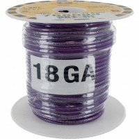 MTW TEW Equipment Wire 18 Awg Purple