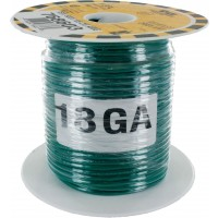 MTW TEW Equipment Wire 18 Awg Green
