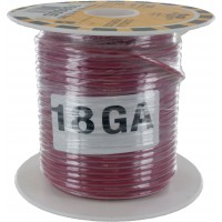 MTW TEW Equipment Wire 18 Awg Red