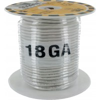 MTW TEW Equipment Wire 18 Awg White