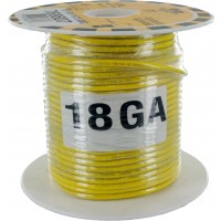 MTW TEW Equipment Wire 18 Awg Yellow