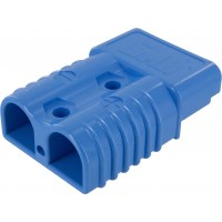 Battery Connector Housing 4-1/0 Awg 175 Amp Blue Front