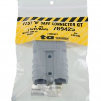 Battery Connector Kit 8 Awg 50 Amp Grey