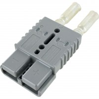 Battery Connector Kit 2-1 Awg 175 Amp Grey
