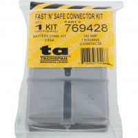Battery Connector Kit 3/0 Awg 350 Amp Grey In Package