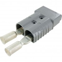 Battery Connector Kit 4/0 Awg 350 Amp Grey Front