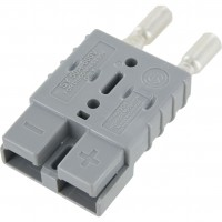 Battery Connector Kit 12-10 Awg 50 Amp Grey