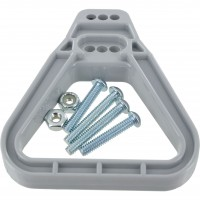 Plastic Handle for 175 Amp & 350 Amp Battery Connector Grey Front