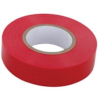 RED PVC ELECTRICAL TAPE 10PK