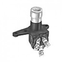 """DIMMER, 2POSITION:ON-ON, 3 SCREWS,1/4""""-20 MOUNTING HOLES, THROUGH FLOORBOARD MOUNTING"""
