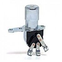 """DIMMER, 2POSITION:ON-ON, 3 SCREWS, THROUGH FLOORBOARD MOUNTING, 1 1/16"""" DIA. STEM"""