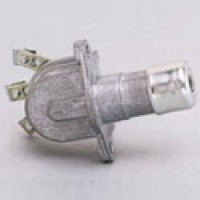 """HEADLAMP DIMMER SWICTH, 7/8"""" STEM, TWO 1/4""""-20 TAPPED MOUNTING HOLES, 1 3/4"""" ON CENTERS"""