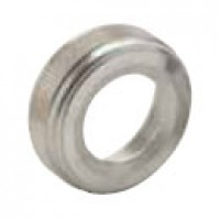 """FACENUT, BRASS-CHROME PLATED, 5/8""""-32, 3/4"""" HOLE CLEARANCE, 1/4"""" THICKNESS"""