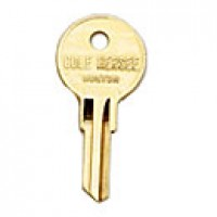 KEY, TUMBLER LOCK FOR IGNITION SPEC. IGNITION SWITCHES