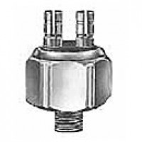 STOPLAMP SWITCH, HYDRUALIC, SPST, NORMALLY OFF, 2 FEMALE BULLET TERMINALS