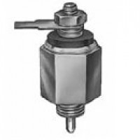 """GRD SWITCH, 5A@24DC, 1 BLADE, GASKET-SEALED CASE. 3/8""""-24UNF-2A THREAD, 1/4"""" LONG"""