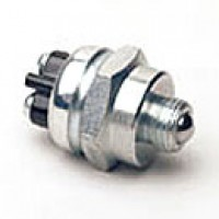 """BALL SWITCH, SPST, NORMALLY OFF, 35A@12VDC, MOUNTING STEM:9/16""""-18UNF-2A THREAD, 5/16""""LONG, BRASS GASKET WASHER"""